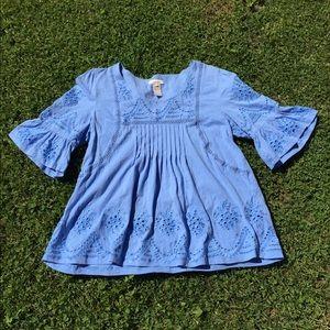 Sundance // Blue Bell Sleeve Top
